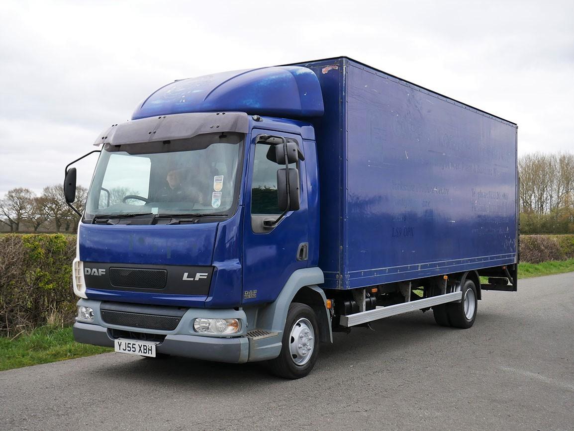 DAF LF 45 150 4 X 2 Box Van - MOT Tested