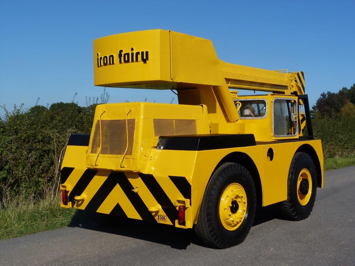 Tri Axle Truck For Sale >> Iron Fairy Saphire 6 Ton Yard Crane