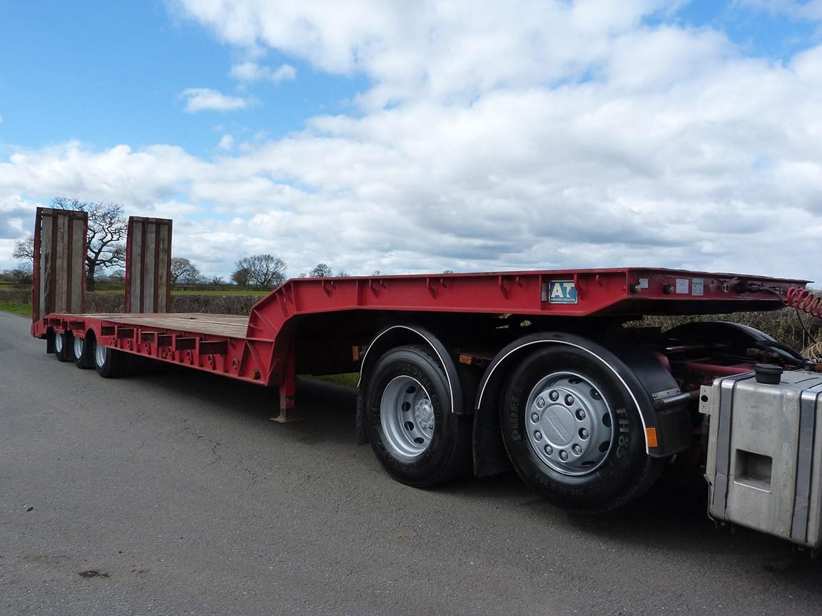 Weight Per Axle Semi Truck : Andover tri axle heavy duty low loader